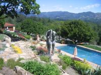 Sonoma County residence hardscaping